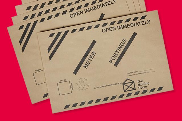 TMR Meter Posting Envelope