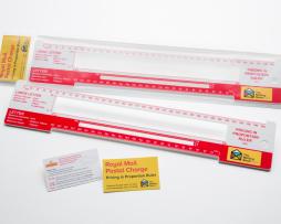 mailing room ruler