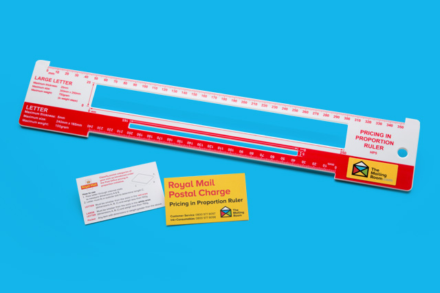 Avoid Surcharges with a FREE Ruler