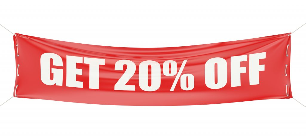 20% OFF in the January Sale