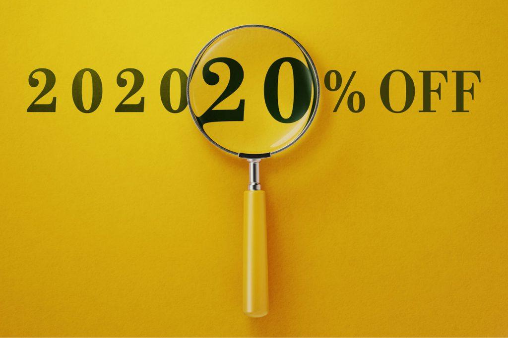 202020% OFF Jan SALE