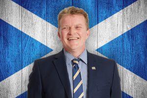 Proud Scot Dan Paton