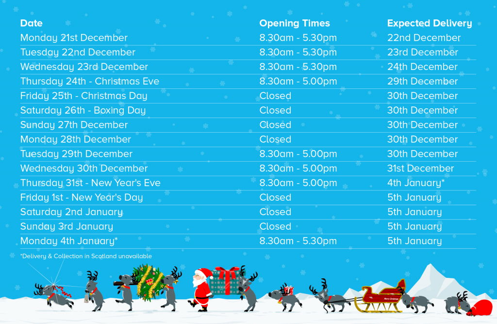 2020 Xmas Hours – Roll On 2021
