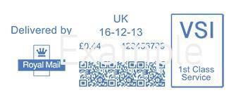 Mailmark 2D Barcode