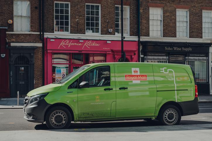 RM green van